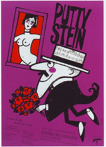 PIT WEYER , Luxemburgse Theateraffiches